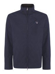 Gant Men's Mid Length Button Through Jacket Navy