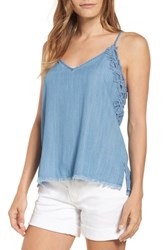 Billy T Chambray Camisole Top Blue