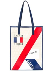 Corto Moltedo Palais Royal Shopper Tote Neutrals