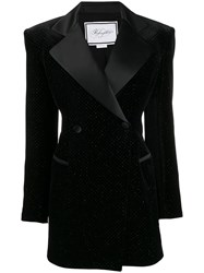 Redemption Hourglass Double Breasted Tuxedo Black