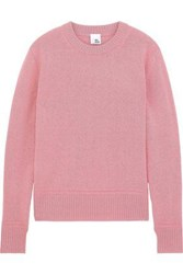 Iris And Ink Everly Oversized Wool Sweater Pink