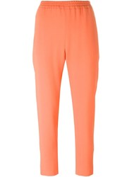 Stella Mccartney 'Tamara' Trousers Yellow And Orange