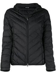 Emporio Armani Ea7 Basic Zipped Puffer Jacket Black