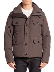 Canada Goose Selkirk Puffer Parka Grey