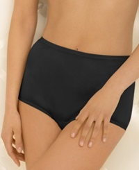 Vanity Fair Perfectly Yours Ravissant Nylon Brief 15712 Midnight Black