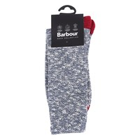 Barbour Mariner Socks Navy Red