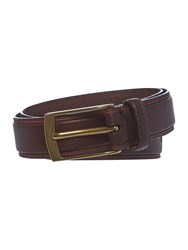 Howick Edge Detail Belt Brown