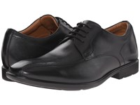 Clarks Gosworth Over Black Leather Men's Lace Up Wing Tip Shoes
