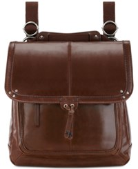 The Sak Ventura Small Leather Backpack Teak