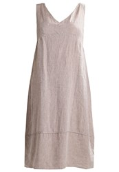 Open End Maxi Dress Taupe