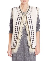 Free People Faux Fur Lined Vest