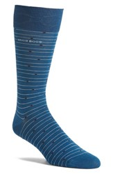 Boss Men's 'Rs Design' Dot Stripe Socks
