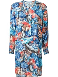Dagmar 'Fin' Bird Print Tunic Multicolour