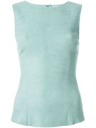 Drome Sleeveless Leather Top