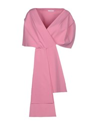 Carla G. Capes And Ponchos Pink