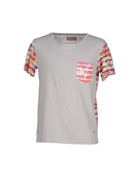 Fifty Four Topwear T Shirts Men Grey
