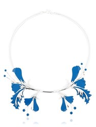 Ek Thongprasert Metal Flower Necklace