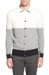 Ag Jeans Men's Ag 'Admiral' Colorblock Mercerized Wool And Cashmere Cardigan