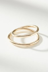 Anthropologie Infinity Ring Gold
