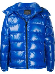 Duvetica Padded Hooded Jacket Blue