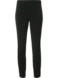 Alexander Wang T By Slim Fit Trousers Black