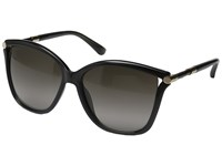 Jimmy Choo Tatti S Dark Gray Brown Gradient Fashion Sunglasses Black