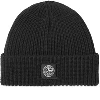 1167aac37 Wool Patch Logo Beanie Black
