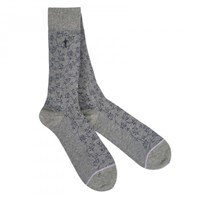 London Sock Company Weitz Grey