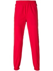 Tim Coppens Lux Joggers Cotton Polyamide Red