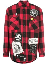 Madeworn Check Print Flannel Shirt 60