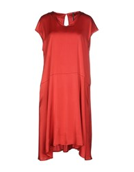 Liviana Conti Dresses Knee Length Dresses Women Red