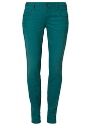 Tom Tailor Carrie Slim Fit Jeans Fresh Teal Green Petrol