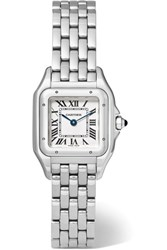 Cartier Panthere De Small Stainless Steel Watch Silver
