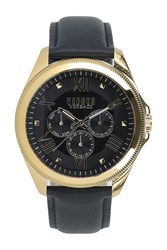 Versus By Versace 'S Elmont Multi Function Analog Quartz Watch 44Mm Stainless Steel