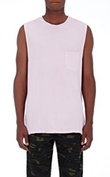 Alexander Wang T By Women's Muscle Tee Cotton Tank Pink