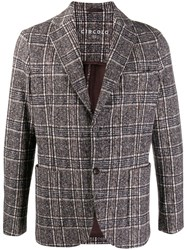 Circolo 1901 Fitted Single Breasted Blazer Brown