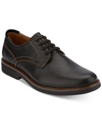 G.H. Bass And Co. Men's Howell Plain Toe Oxfords Created For Macy's Men's Shoes Black