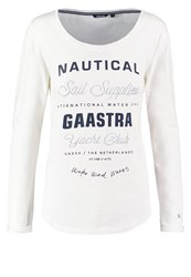 Gaastra Long Sleeved Top Offwhite Off White