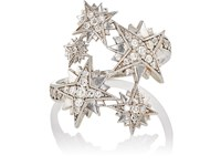Sara Weinstock Women's Starburst Ring White Gold