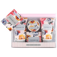 Heathcote And Ivory Vintage Pattern And Petals Mini Hand Care Set