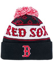 Marcelo Burlon County Of Milan Red Sox Knitted Hat Black