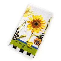 Mackenzie Childs Sunflower Dish Towel