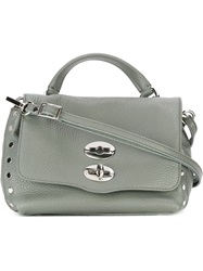 Zanellato Mini 'Postina' Tote Bag Grey