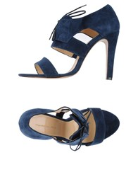 Tila March Footwear Sandals Women Dark Blue