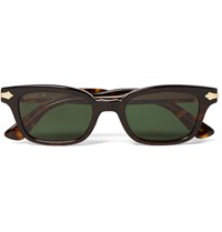 Gucci Square Frame Tortoiseshell Acetate And Gold Tone Sunglasses Brown