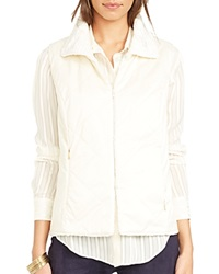 Lauren Ralph Lauren Reversible Collared Vest