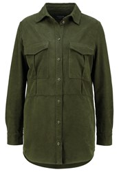 Earnest Sewn Dorothy Shirt Army Green Khaki