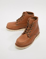 Dickies Illinois Lace Up Boots Tan