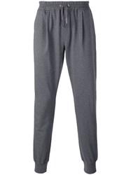 Eleventy Cuffed Track Pants Men Cotton Xl Grey