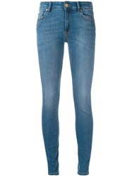 Don't Cry Jeans Women Cotton Polyester Spandex Elastane 28 Blue
